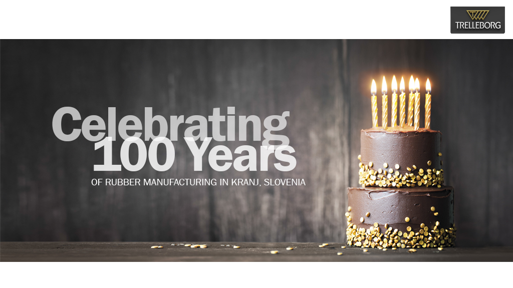 100 years of rubber manufacturing in Kranj