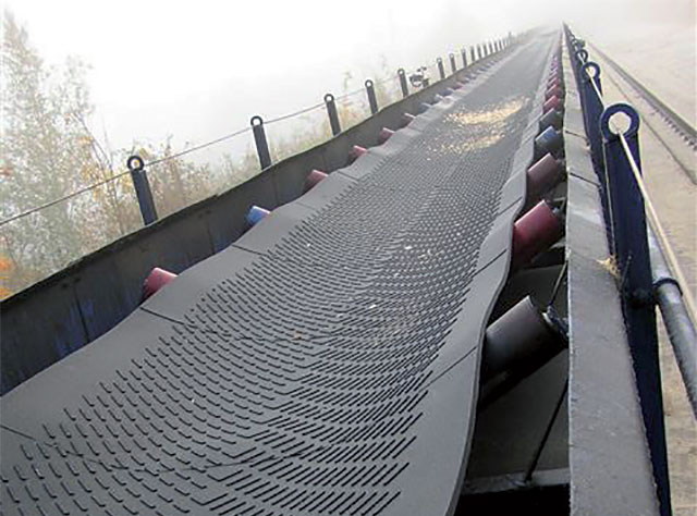 Supergrip, finegrip and noppen conveyor belts