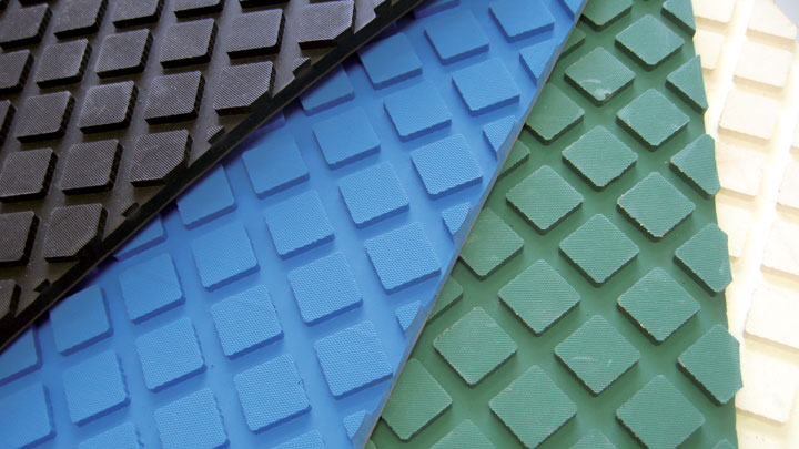 TECHNICAL RUBBER SHEETS - Application-specific types