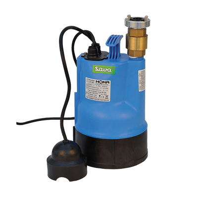 INFLATABLE DECONTAMINATION UNITS - SUBMERSIBLE PUMP