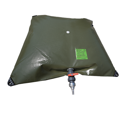 INFLATABLE DECONTAMINATION UNITS - TANK FOR CONTAMINATED WATER