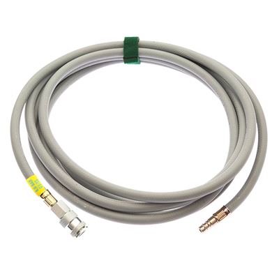ACCESSORIES FOR HIGH-PRESSURE LIFTING BAGS - INFLATION HOSES GRAY