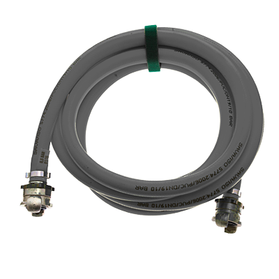 LOW-PRESSURE LIFTING BAGS - INFLATION HOSES BLACK RIGID