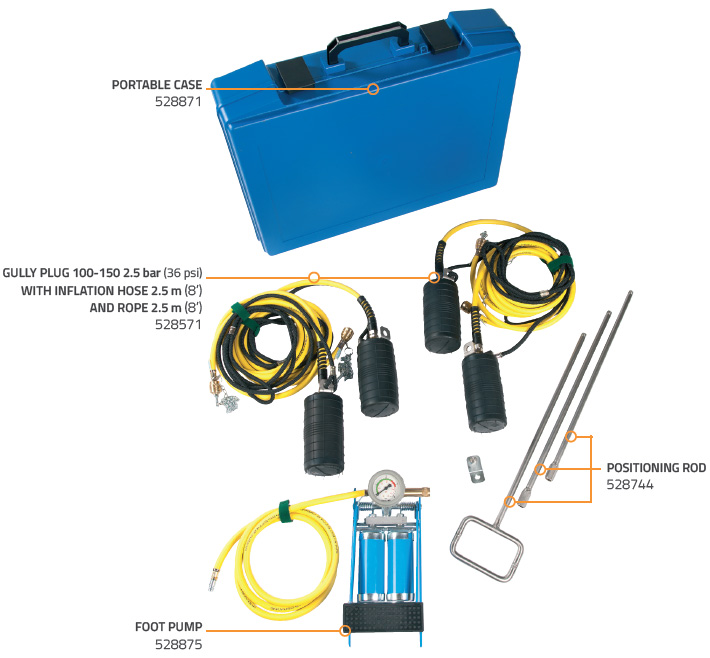 GULLY SEALING SET 100-150