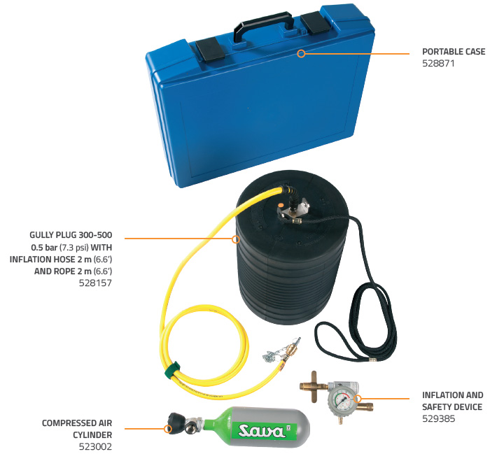 GULLY SEALING SET 300-500